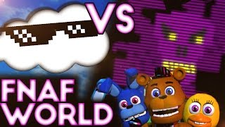 FNAF World - CLOUD VS PURPLEGEIST(Halloween edition)