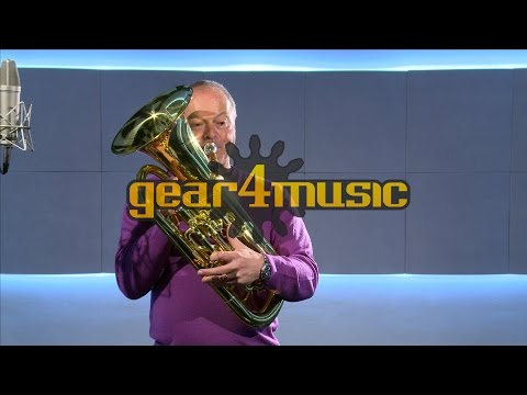 4 Valve Euphonium by Gear4music