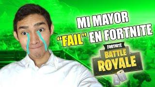 MI MAYOR FAIL EN FORTNITE !! - Fernanfloo
