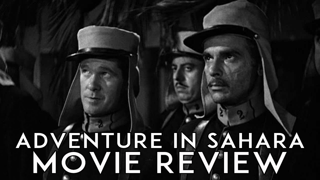 War Movie - Adventure in Sahara (1938)