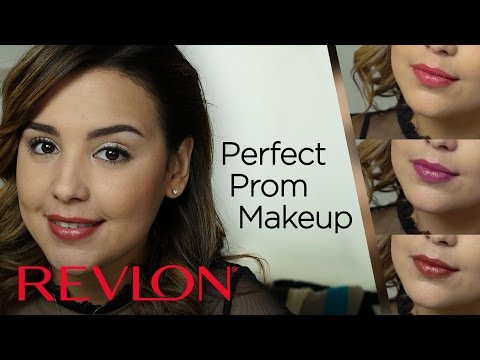 Perfect Prom Makeup with a Statement Lip feat. MakeupbyAmarie | Revlon