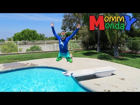New School, New Pool || Mommy Monday