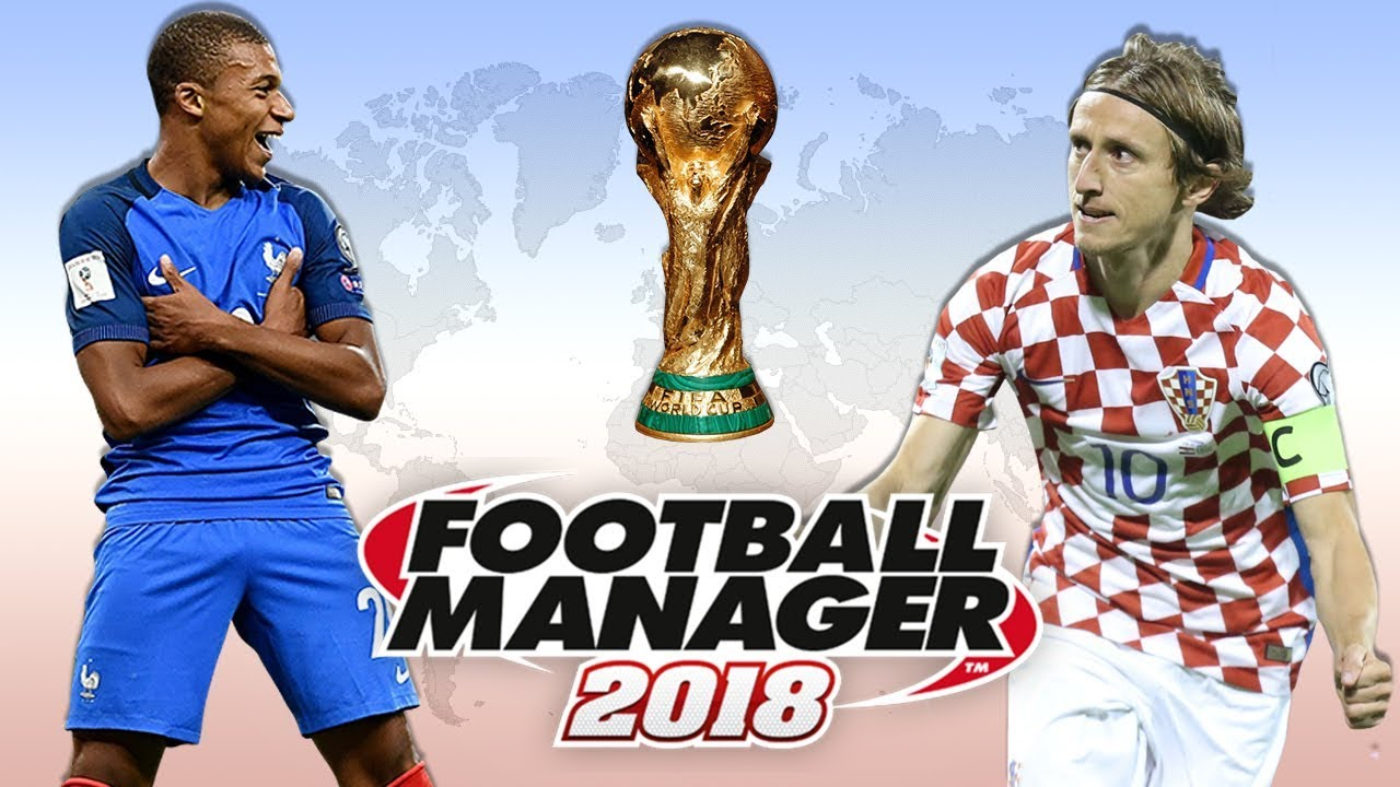 World Cup Final Prediction According to Football Manager 2018   FM18 Experiment