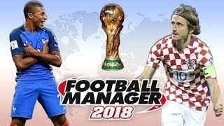 World Cup Final Prediction According to Football Manager 2018 | FM18 Experiment