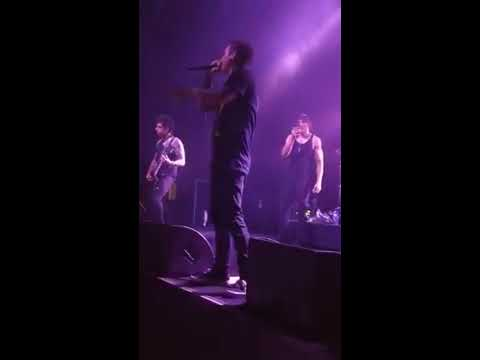 Escape the Fate - Harder than you know - live, Brisbane 2018