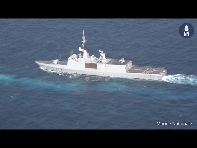 Frégate Légère Furtive Courbet de la Marine Nationale: Rénovation à mi-vie