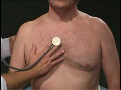 Auscultation with diaphragm and bell !! Cardiac Examination