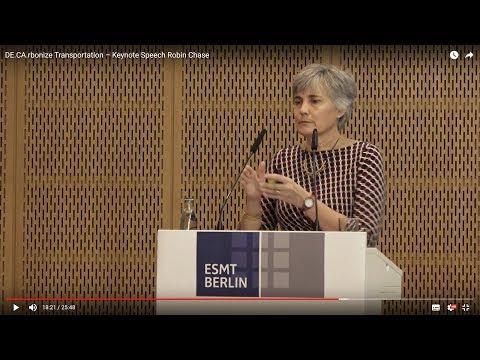DE.CA.rbonize Transportation – Jan. 30–31, 2018 – Keynote Speech Robin Chase
