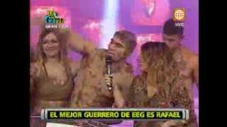 Esto es Guerra: Rafael Cardozo es elegido el mejor guerrero - 16/08/2013