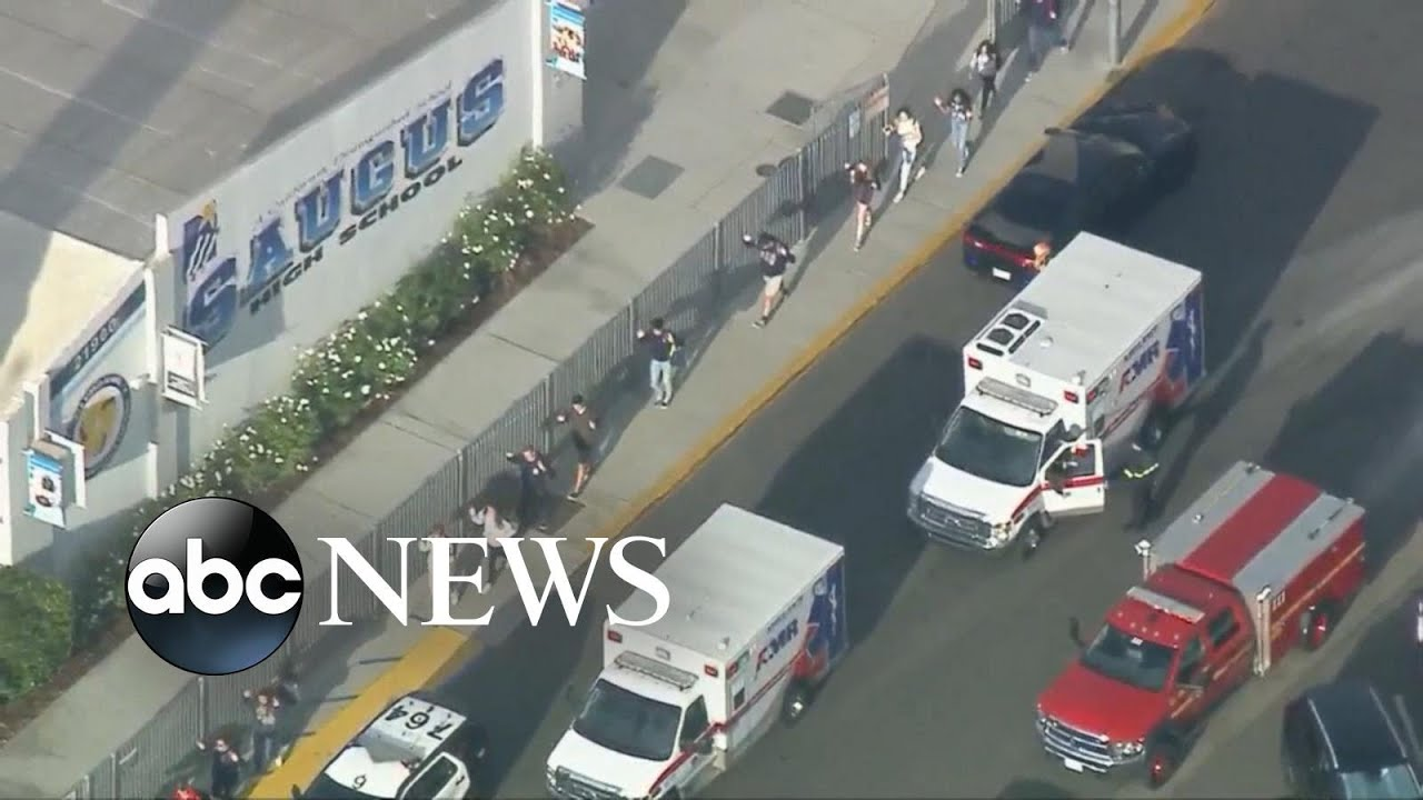 At least 2 dead after California school shooting