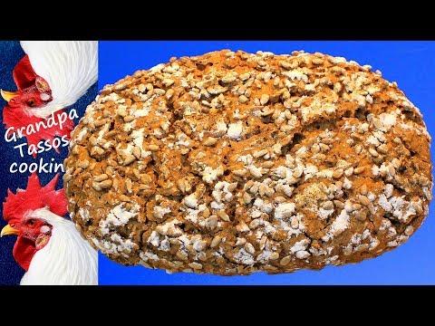 No Kneaded - Rye sourdough bread