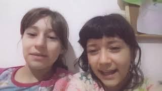 Arkadaşım Esma ve ben sen olsan bari 😊😎