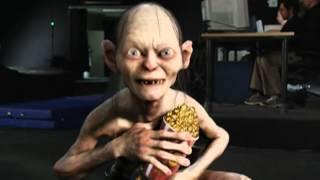 Энди Серкис получает награду MTV Movie Awards