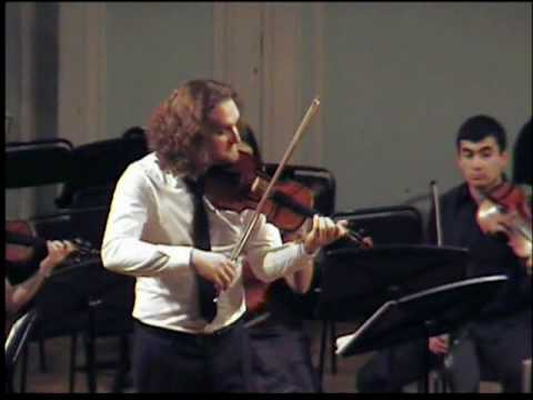 Vivaldi. The seasons. Yuri Medianik, violin (Юрий Медяник). Autumn. Gnessin Virtuosos