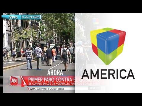 Protocolo anti piquetes debuta con polémica en una marcha por el centro porteño