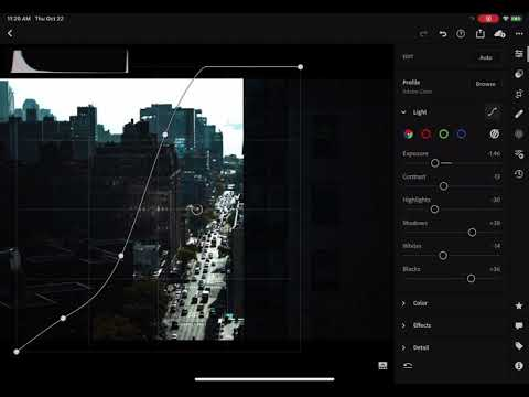 Lightroom iPad - Histogram freeze bug
