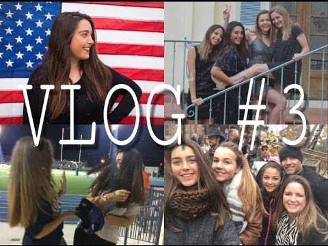 Vlog 3, EXCHANGE STUDENT, YEAR IN USA - Blanca Abad