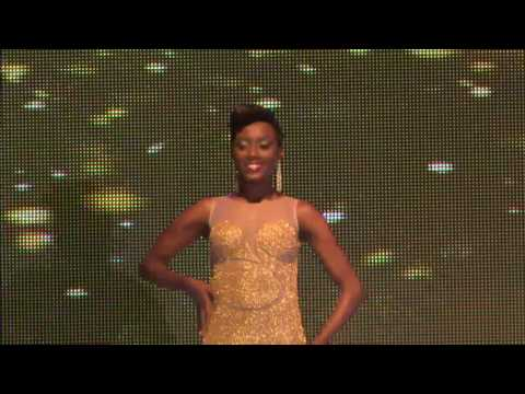 Miss BVI 2016 Evening Wear & Question and Answer