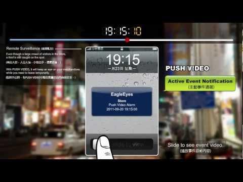 AVN-80X Push Video AVTECH EagleEyes