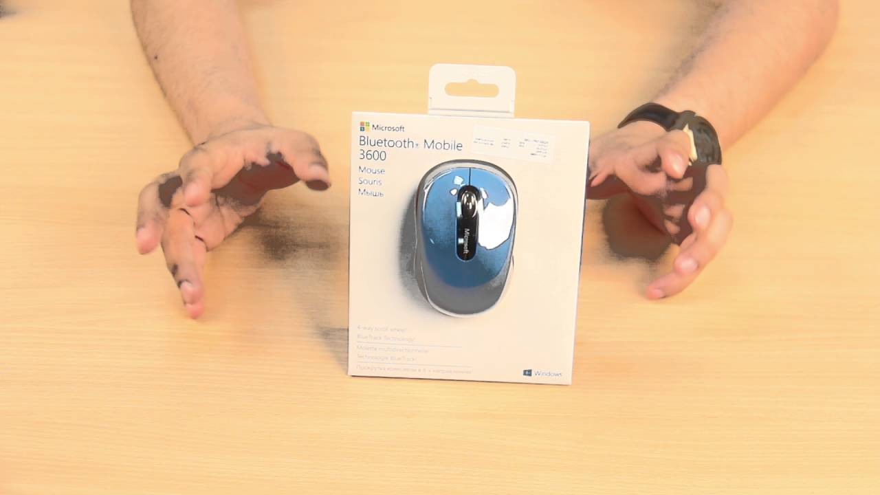 Bluetooth Mobile Mouse 3600 English Youtube Microsoft