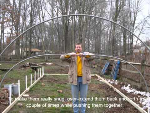 Building a Hoop House - YouTube