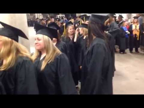 Black Hawk College Quad-Cities Campus 2014 Commencement Ceremony at the iwireless center