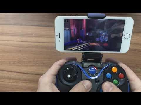 Підключення геймпада GamePro MG550 до IOS/Android/Windows на прикладі гри Modern Combat 5