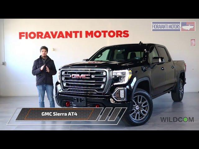 GMC Sierra AT4: il pick-up di lusso che non teme il fuoristrada