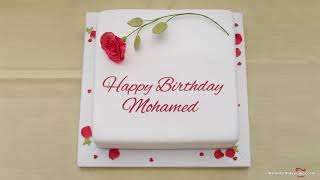 Happy Birthday Mohamed - Best Wishes For You