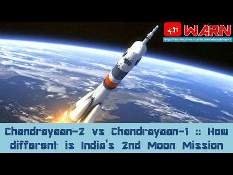 Chandrayaan-2 vs Chandrayaan-1 :: How different is India's 2nd Moon Mission
