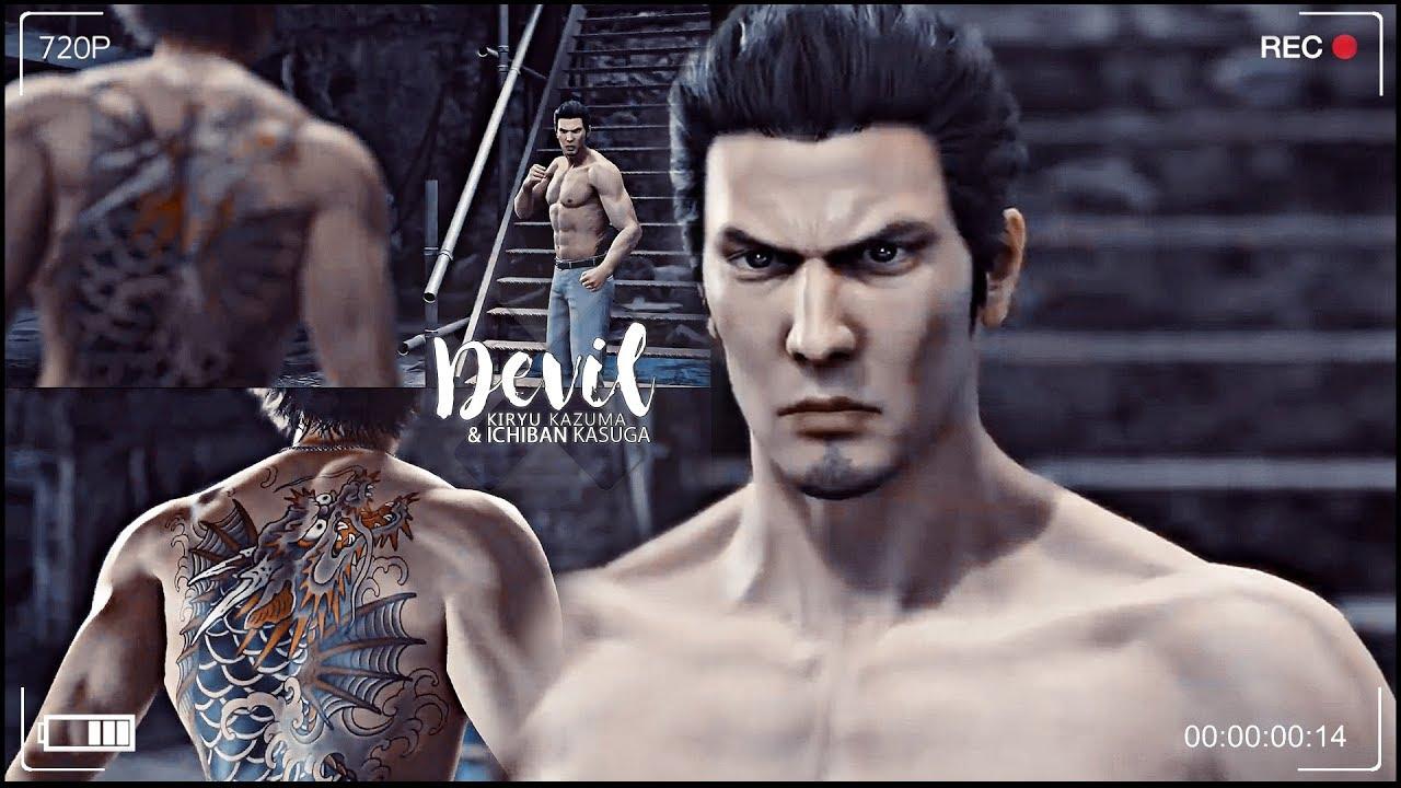 Devil Kiryu Kazuma Ichiban Kasuga