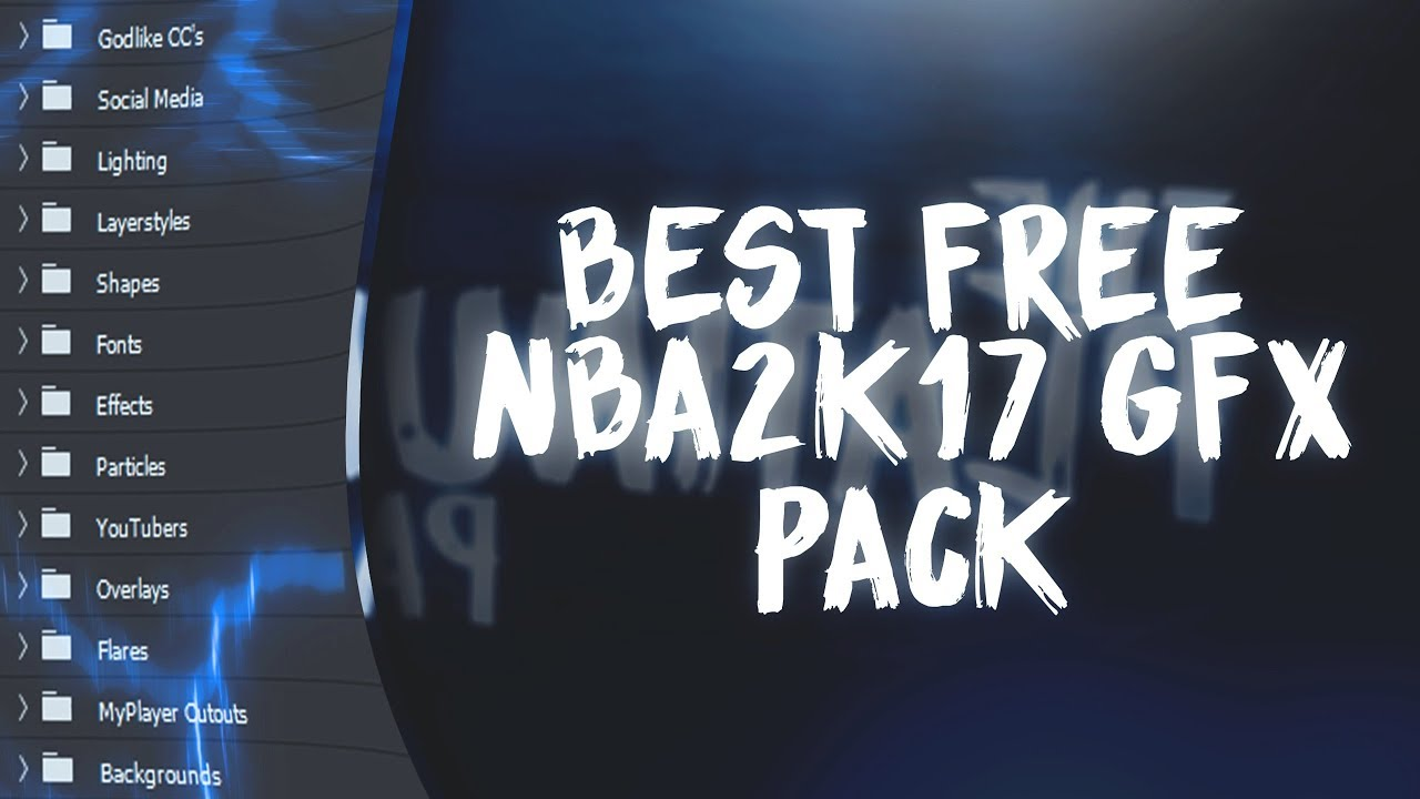 NBA2K17 FREE GFX PACK!! (THE BEST FREE GFX PACK)😱 (THE