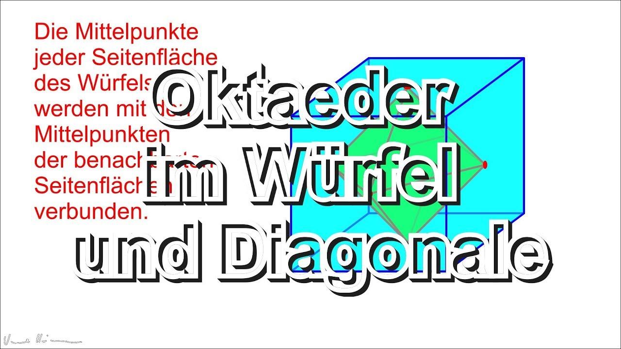 oktaeder berechnen hubsi s lehrerhomepage satz des. Black Bedroom Furniture Sets. Home Design Ideas