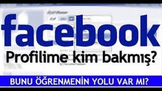 Facebook profilime kim baktı (2017)