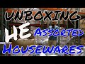 UNBOXING: HE Assorted Branded Housewares