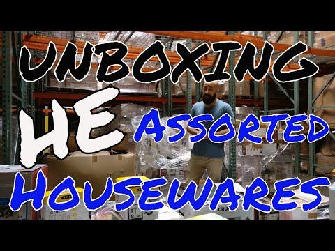 Unboxing: Asorted Housewares
