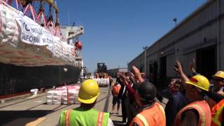 Raw: port of stockton imports its 2 ...