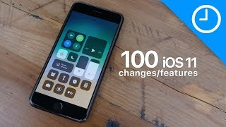 100+ new iOS 11 features / changes!