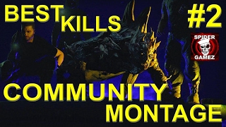 Dying Light - Community KILL MONTAGE Part TWO Best Of The Community Night Hunter Kills Compilation