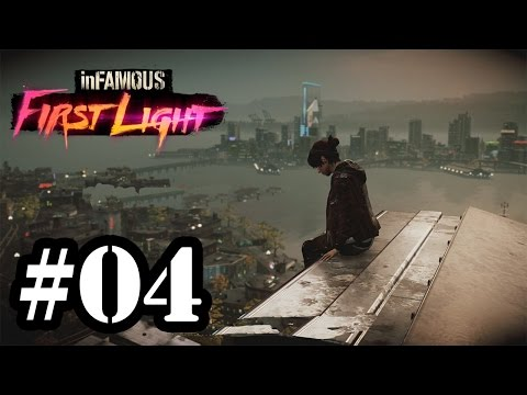 Let's Play: Infamous First Light - Parte 4