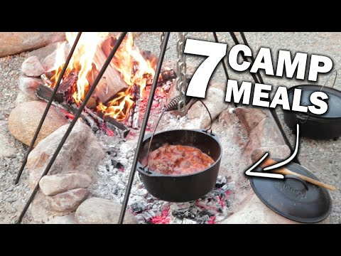 7 Simple Camping Recipes | Easy Camping Food Ideas | Camp Meal Kids LOVE