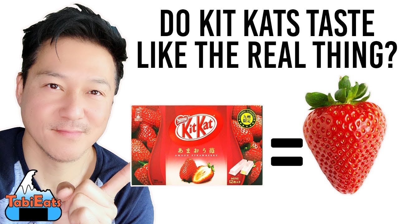 Japanese KIT KAT Taste Experiment