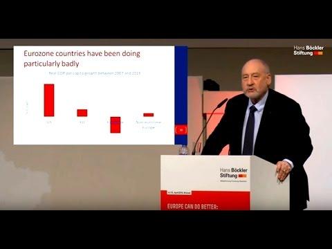 JOSEPH STIGLITZ - Europe Can Do Better
