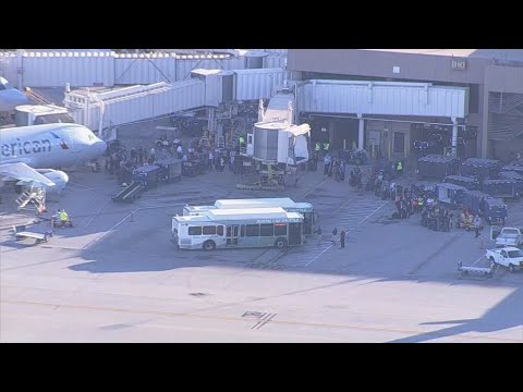 Gates A and D closed at Terminal 4 for police situation