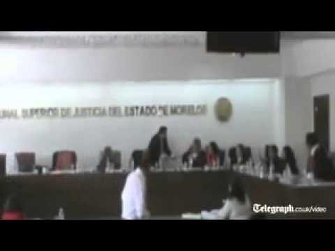 Courtroom brawl as Mexican judge punches fellow justices