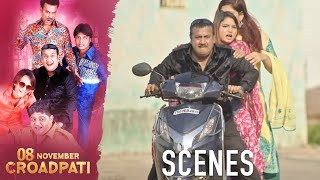 08 November Croadpati Movie Scenes | Robbers gets away with the money | Silly Monks Deccan