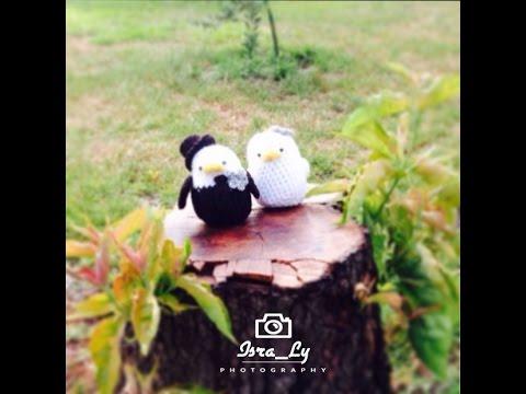 Crochet Lovebirds- كروشية طيور الحب ١