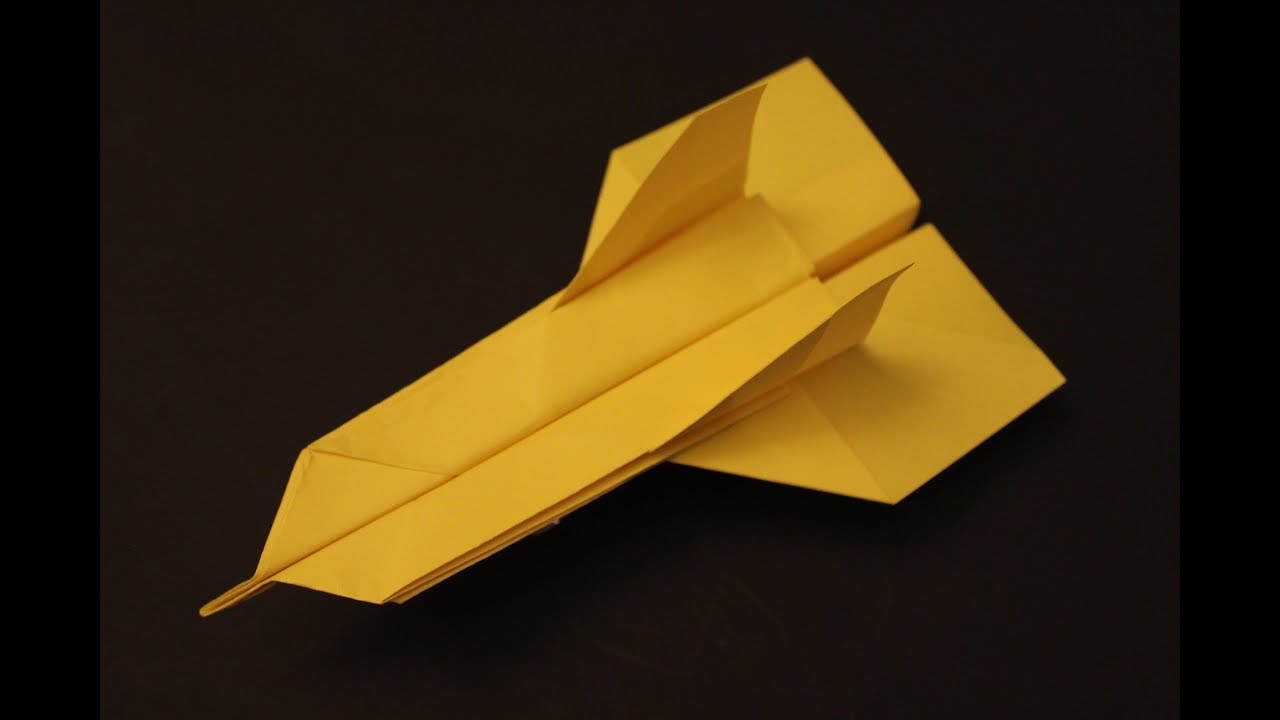 How to make a cool paper plane origami: instruction| Gumby ...