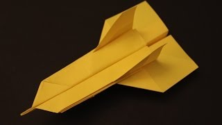 How To Make A Cool Paper Plane Origami: Instruction| Gumby