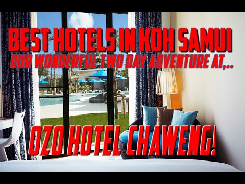 Best Hotels In Koh Samui | Our Magical Two Day Adventure – Temple, Ozo hotel, Amazing Burgers!